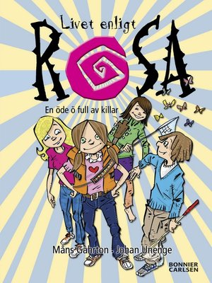 cover image of En öde ö full av killar