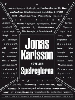 cover image of Spelreglerna