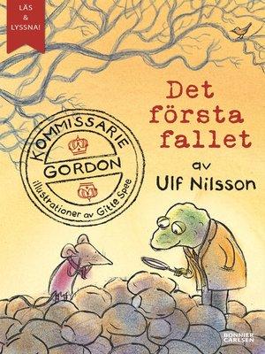 cover image of Kommissarie Gordon. Det första fallet (e-bok + ljud)