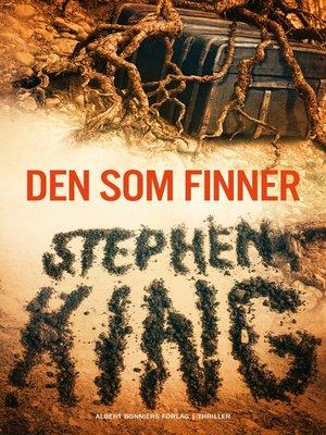 cover image of Den som finner