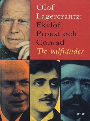 cover image of Ekelöf, Proust och Conrad