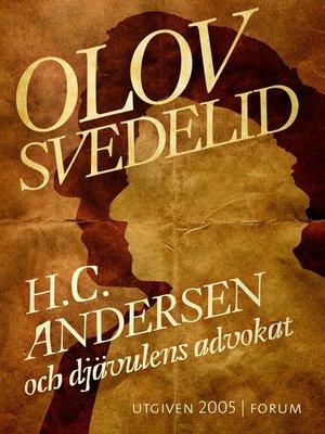 cover image of H.C. Andersen och djävulens advokat