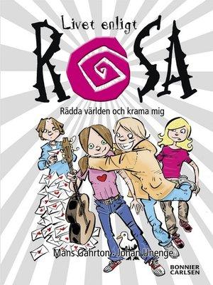 cover image of Rädda världen och krama mej