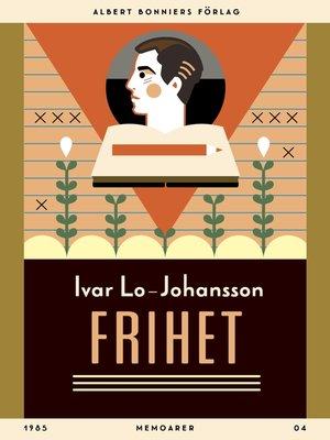 cover image of Frihet