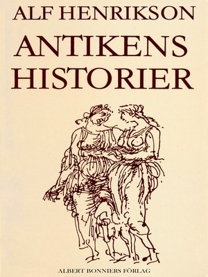 cover image of Antikens historier