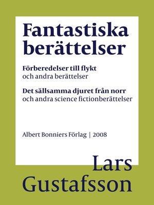 cover image of Fantastiska berättelser