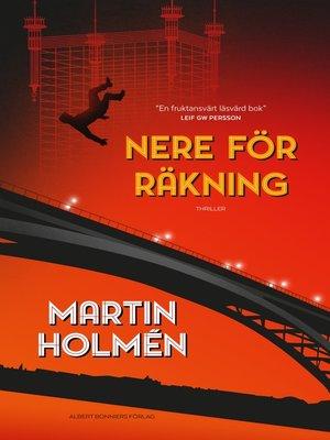 cover image of Nere för räkning