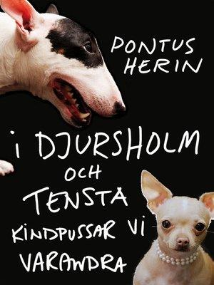 cover image of I Djursholm och Tensta kindpussar vi varandra