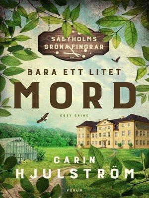 cover image of Bara ett litet mord