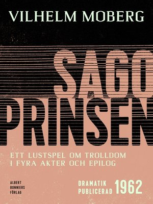 cover image of Sagoprinsen