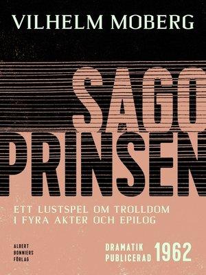 cover image of Sagoprinsen