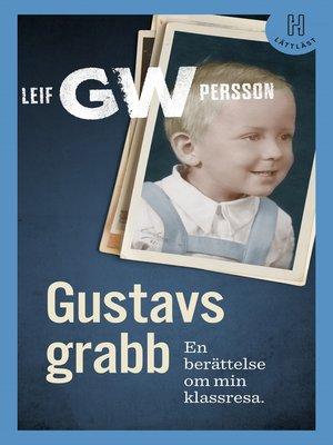 cover image of Gustavs grabb (lättläst)