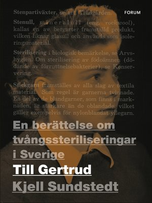 cover image of Till Gertrud