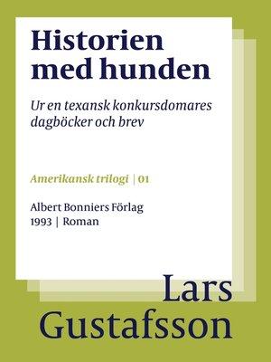 cover image of Historien med hunden