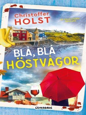 cover image of Blå, blå höstvågor