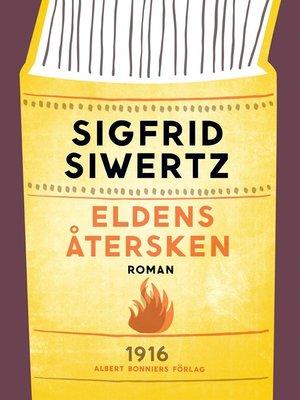 cover image of Eldens återsken