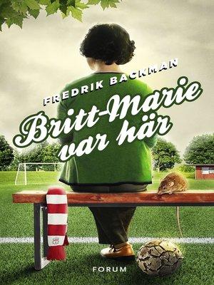 cover image of Britt-Marie var här