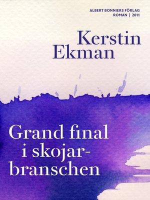 cover image of Grand final i skojarbranschen