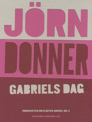 cover image of Gabriels dag