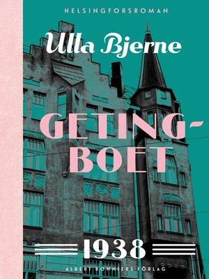 cover image of Getingboet