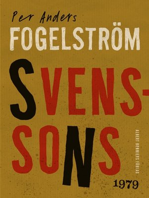 cover image of Svenssons