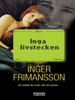 cover image of Inga livstecken