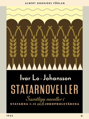 cover image of Statarnoveller
