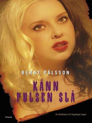 cover image of Känn pulsen slå