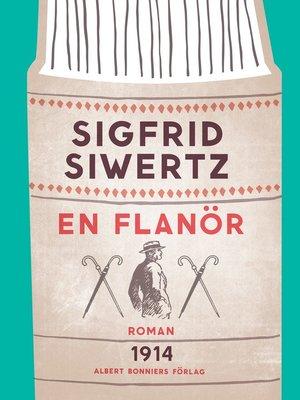 cover image of En flanör