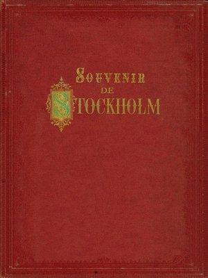 cover image of Souvenir de Stockholm