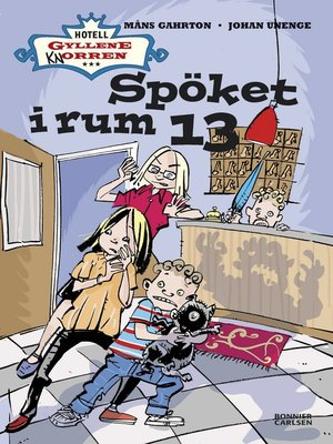 cover image of Spöket i rum 13