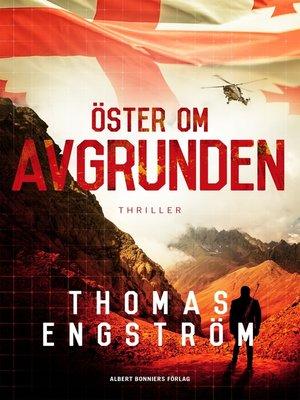 cover image of Öster om avgrunden