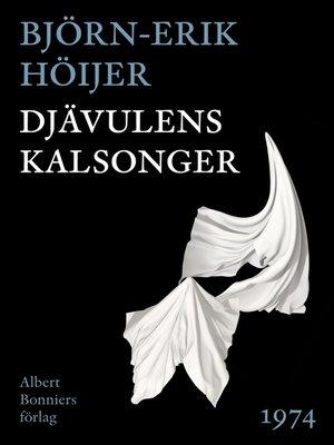 cover image of Djävulens kalsonger