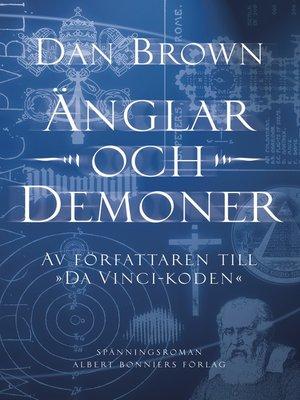 cover image of Änglar och demoner