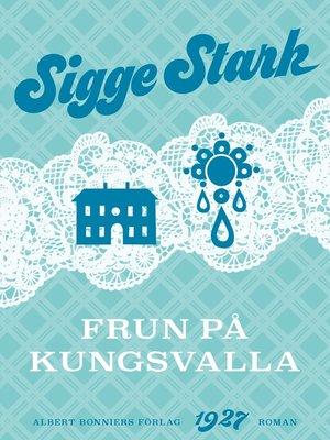 cover image of Frun på Kungsvalla