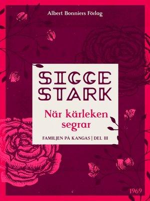 cover image of När kärleken segrar