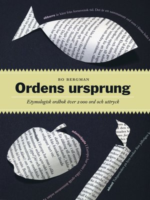 cover image of Ordens ursprung