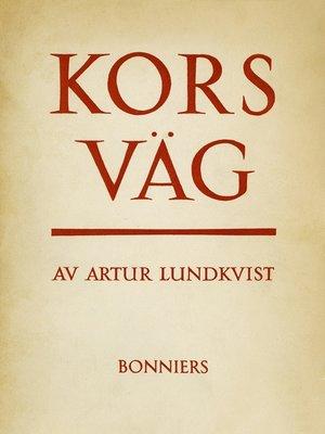 cover image of Korsväg