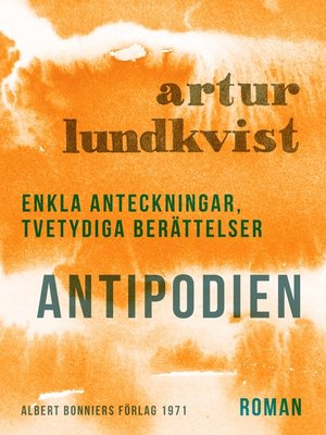 cover image of Antipodien
