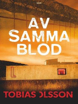 cover image of Av samma blod