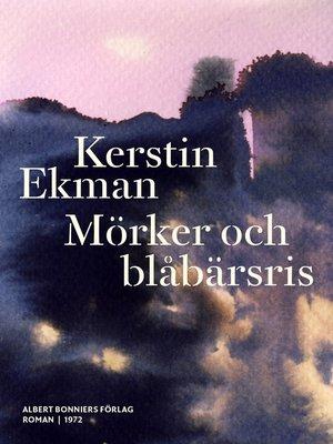 cover image of Mörker och blåbärsris