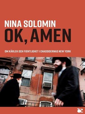 cover image of ok, amen