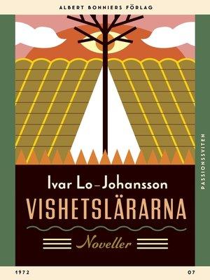 cover image of Vishetslärarna