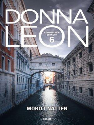 cover image of Mord i natten