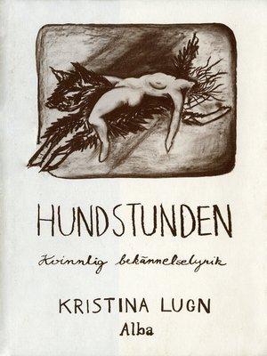 cover image of Hundstunden