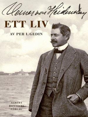 cover image of Verner von Heidenstam