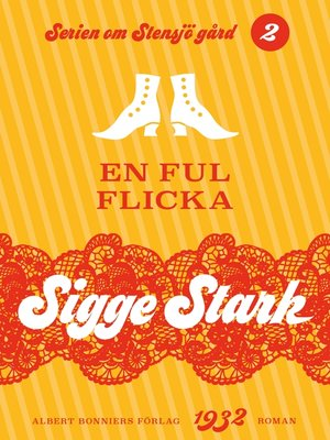 cover image of En ful flicka