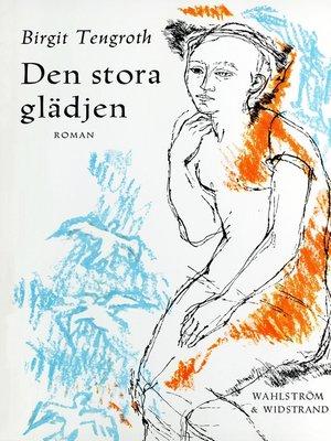 cover image of Den stora glädjen