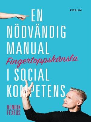 cover image of Fingertoppskänsla