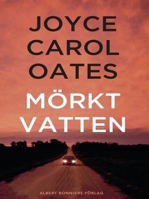 cover image of Mörkt vatten